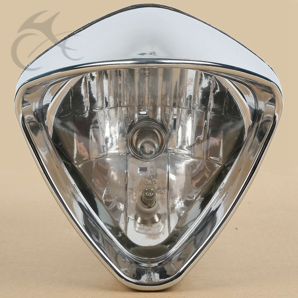 6 Plated Cobra Headlight For Honda Magna250 Steed VLX400/600 Shadow VT750 LP620 Magna 700 Shadow Spirit ACE VT 1100 750 for honda steed 400 600 vt600 shadow 400 750 magna 250 750 motorcycle front brake clutch left 1 25mm chrome