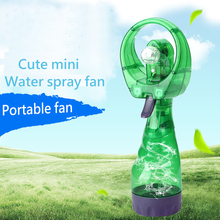 Mini Cooling Fan Portable Handheld Water Spray Fan Battery Operated Outdoor Bottle Travel  Cooler Small Fan стоимость