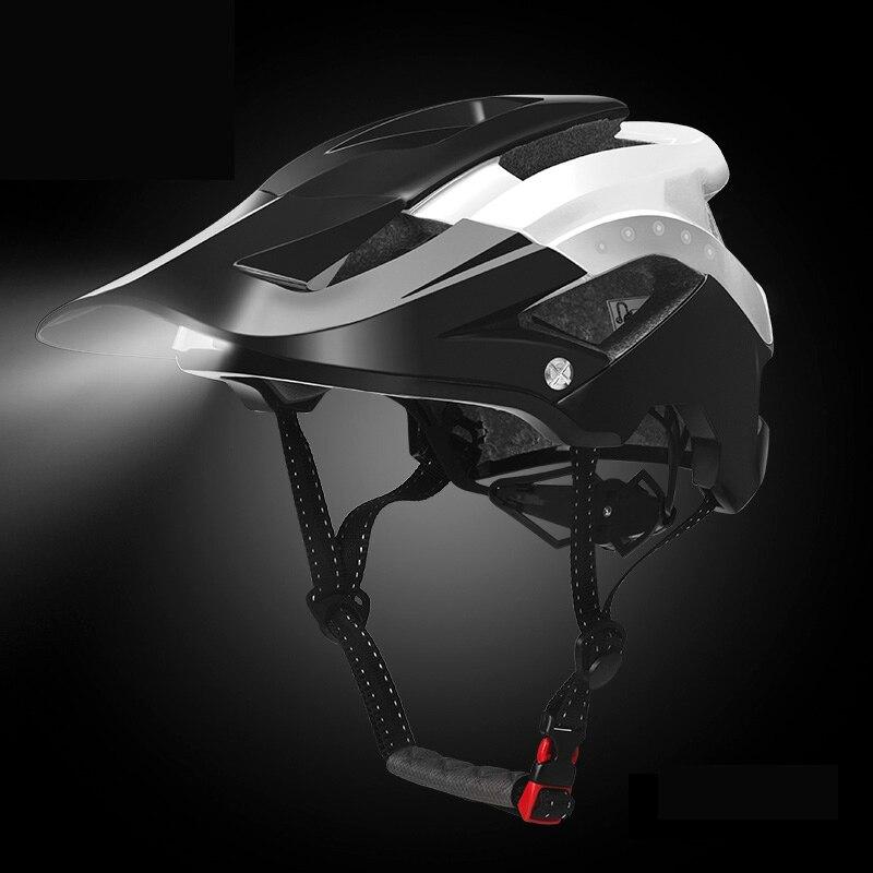 ROCKBROS велосипедные фары велосипедный шлем Intergrally-molded велосипедный легкий шлем Спортивная безопасность горный велосипед крышка шлем для муж...