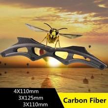 Super Leve Quadro de Fibra De Carbono Patins Inline Velocidade de Nível SUPERIOR para 4X110mm 3X125mm 3X110mm 165mm 195mm Pista de Corrida de Fibra de Base