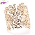 Fashion Vogue Vintage Style Lace Leaves  Bracelet Bangle Cuff BRA001
