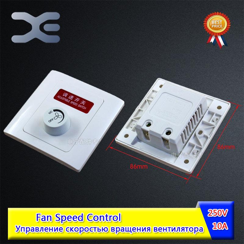 Speed Regulator Fan Knob 250V 10A Control Switch Embedded Installation Fan Speed Controller Knob стоимость