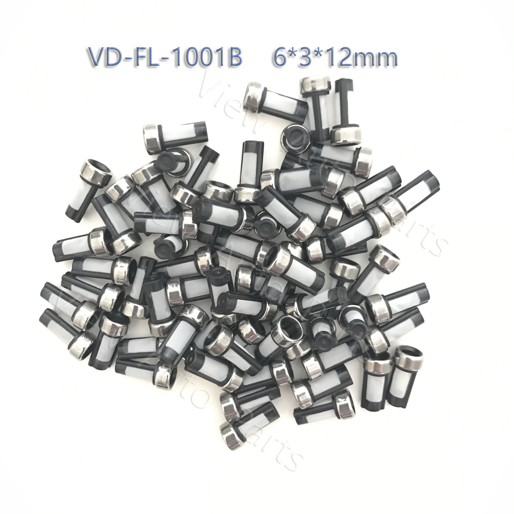 100pcs Fuel Injector Micro Basket Filter Fit for BMW Bosch Injector Repair Kits