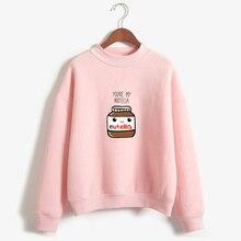 New Women Harajuku Hoodies Korean Fashion You Are My Nutella