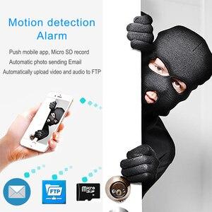 Image 5 - JIENUO IP камера Wifi 720P 960P 1080P HD аудио наружная Водонепроницаемая беспроводная камера видеонаблюдения IPCam инфракрасная домашняя камера видеонаблюдения