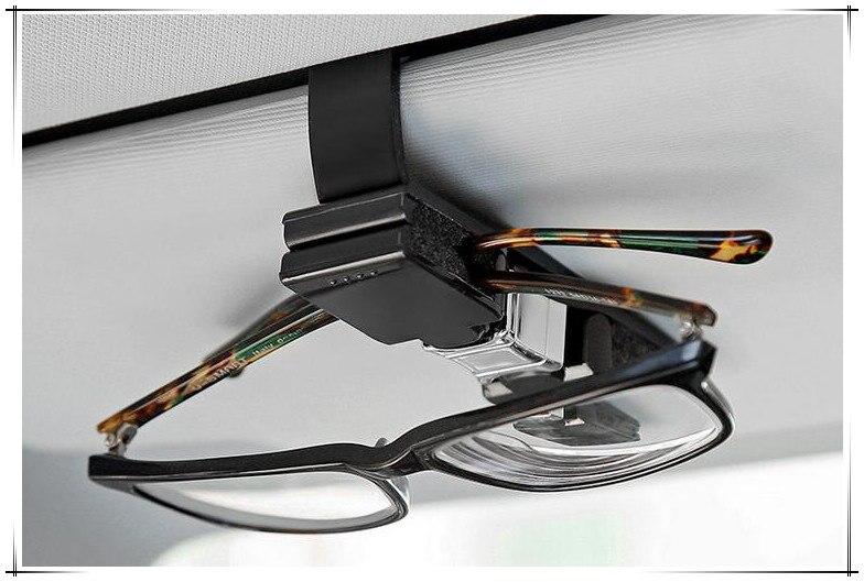 Car Glasses Holder 1 Pcs Holder Clip Accessories For Peugeot 308 Kia Ceed Fiat Punto Citroen C4 Peugeot 207 Nissan Qashqai Dacia