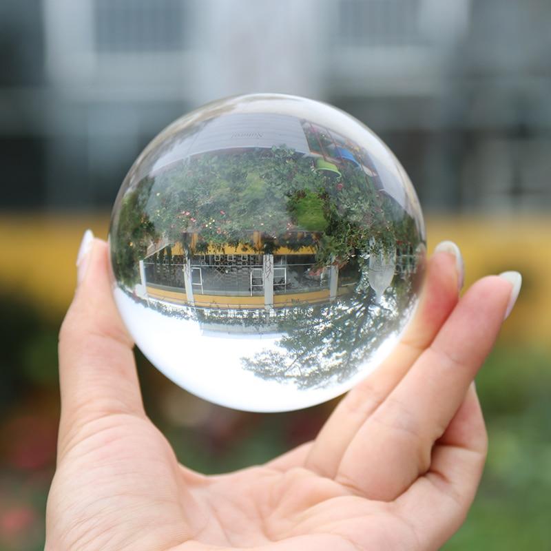 Crystal Healing Glass Ball Sphere 12