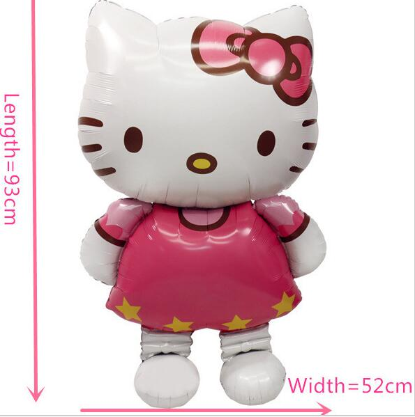 11665cm-Oversized-Hello-Kitty-Cat-foil-balloons-cartoon-birthday-decoration-wedding-party-inflatable-air-balloons-Classic-toys-1