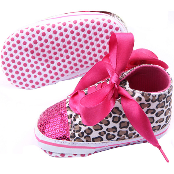 Infant-Kid-Girl-Leopard-Bling-Shoelace-Shoes-Baby-Toddler-Soft-Sole-Sneaker-Crib-Shoes-2