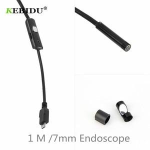 Image 4 - KEBIDU 7mm עדשת USB אנדוסקופ מצלמה עמיד למים חוט נחש צינור פיקוח Borescope עבור אנדרואיד/עבור Windows 2000/ xp/Vista/7 1M