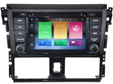 Octa(8)-Core Android 6.0 CAR DVD player FOR TOYOTA YARIS 2014 car audio gps stereo head unit Multimedia navigation