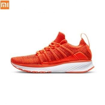 Xiaomi Mijia 2 Sneaker Sports Shoes Uni-moulding Techinique Fishbone Lock System Elastic Knitting Shock-absorbing for Women New