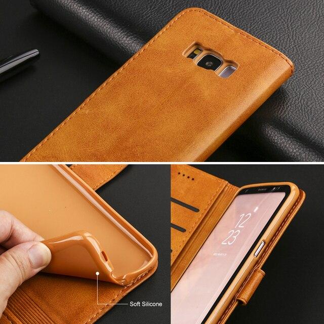Galaxy S8 Case Wallet Black 3