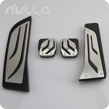 NULLA RHD Stainless Steel Foot Rest Pedals Footrest Pedal Cover Kit MT For BMW F30 F31 F20 F21 316i 318d 320i 328i 335 цена