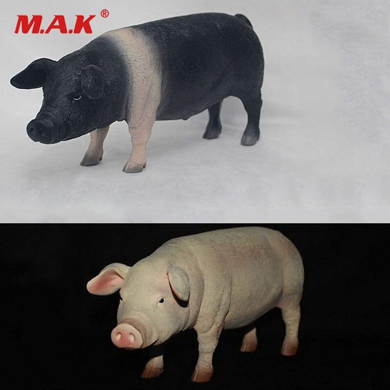 1/6 cochon modèle pour animaux de compagnie voyage à l'ouest noir et blanc Animal jouet pour 12 pouces figurine d'action scène accessoires Collections