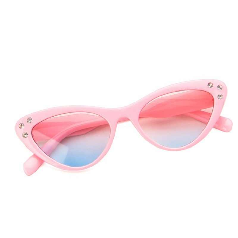 f2b73d5e65d1 Detail Feedback Questions about 2019 New Fashion Pink Cat Eye Sunglasses  for Kids Cute Girls Sun Glasses Goggle UV400 Protective Glasses Children  Eyewear on ...