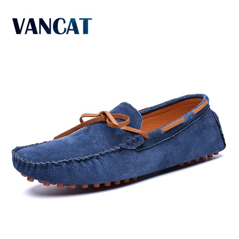 New Mens Casual shoes Genuine Leather Mens shoes Loafers High Quality Mens Flats Fashion Loafers Driving Shoes Big Size 39-49New Mens Casual shoes Genuine Leather Mens shoes Loafers High Quality Mens Flats Fashion Loafers Driving Shoes Big Size 39-49