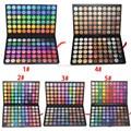 120 Color Fashion Paleta de Sombra Cosméticos Eye Make Up Ferramenta maquiagem Dos Olhos Sombra Eyeshadow Palette Set para as mulheres 5 Estilo de Cor