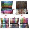 120 Fashion Color Sombra de Ojos Paleta de Cosméticos de Maquillaje de Ojos Herramienta maquillaje de Sombra de Ojos Paleta de Sombra de Ojos Set para la mujer 5 Estilo de Color