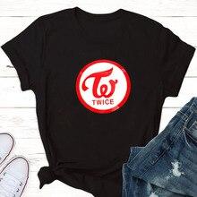 Once & Twice Kpop shirt Shirt (Designed by NMA) Group Logo K-pop T-Shirt kpop top female t-shirts summer woman 2019
