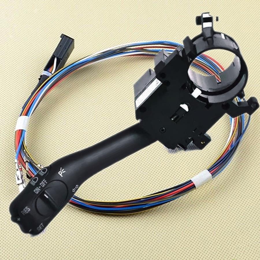 TUKE OEM régulateur de vitesse direction de l'interrupteur + câble adapté VW Passat B5 Golf MK4 Jetta MK4 Beetle Bora 18G 953 513A 1J1 970 011 F