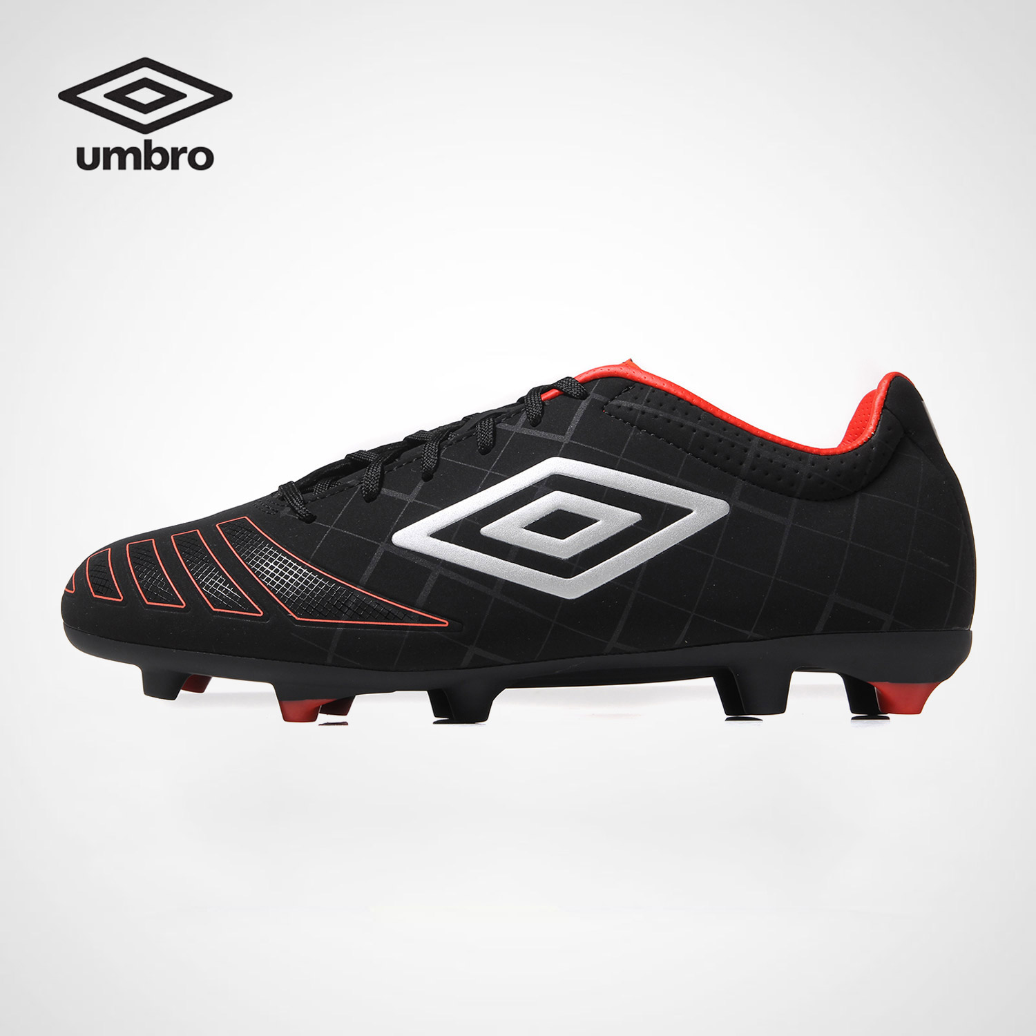 Umbro Men's Football Shoes UX Series Hard Ground HG Spikes Training Soccer Shoes Men Spike Shoes Ucb90103 umbro new men hard groud professional training sports football shoes soccer boots men spike shoes ucb90137