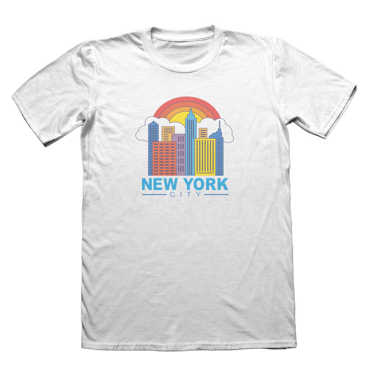 New York USA Design T-Shirt - Mens Fathers Day Christmas #9170