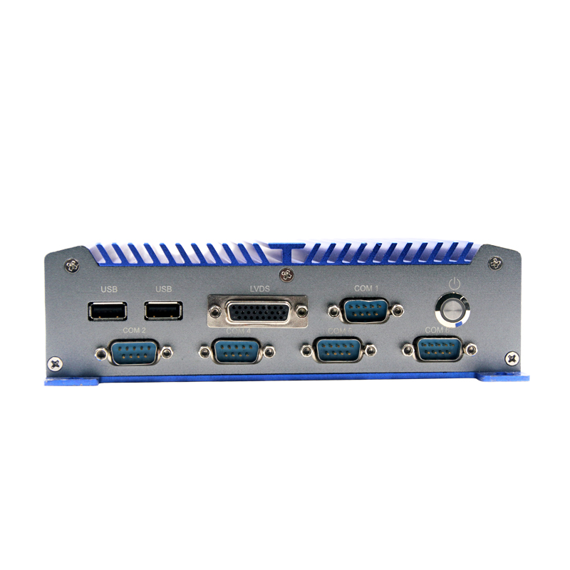 Fanless Industrial X86 PC with Wide voltage Atom Processor Motherboard