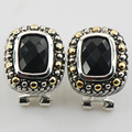 Black Onyx 925 Sterling Silver Earrings TE484