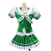 [wamami] 251# Green&White Bowknot Dress/Suit/ 1/4 MSD AOD DOD DZ BJD Dollfie