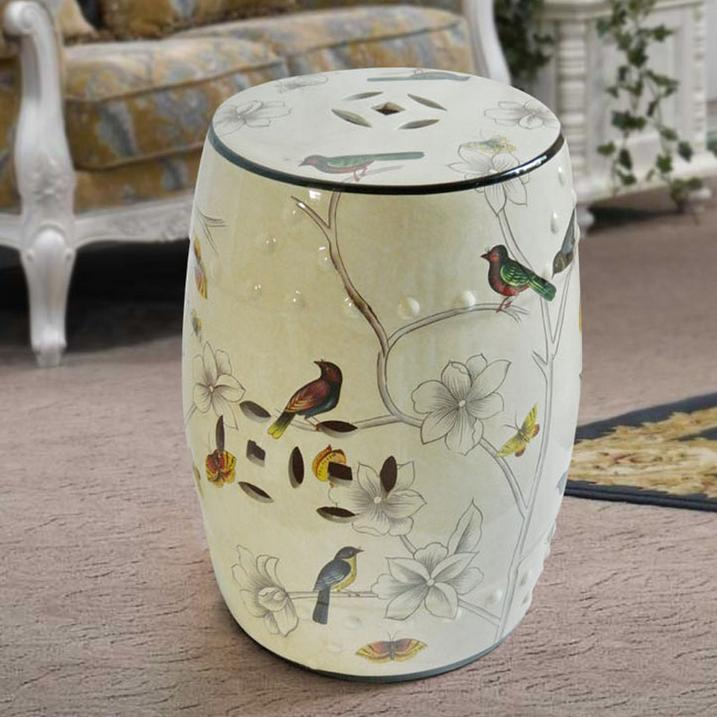Nice Chinese Porcelain Garden Stool Chinese Ceramic Antique Home Drum Porcelain Garden Stool Glazed Hand Painted & Chinese Porcelain Garden Stool | Home Design islam-shia.org