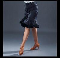 New Sexy Latin Dance Skirts Women Girl Samba Chacha Ballroom Dancing Skirt Competition Practice Latin Dance