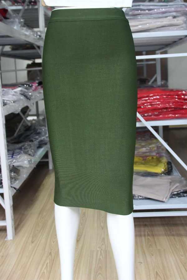 Nowe mody 10 kolorów Sexy kolan spódnica bandażowa New Arrival 2016 kobiet elastyczny dopasowany do ciała spódnice ołówkowe