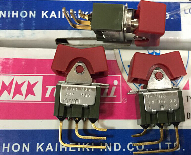 10PCS/LOT Japan's M2018TXG45-DC panel switch toggle switch reset reset detection switch around пилочка для ногтей leslie store 10 4sides 10pcs lot