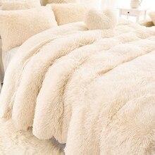 AAG nueva llegada de lujo largo Shaggy manta de cama sábana de cama tamaño grande cálido suave mullido sofá Sherpa mantas funda de almohada