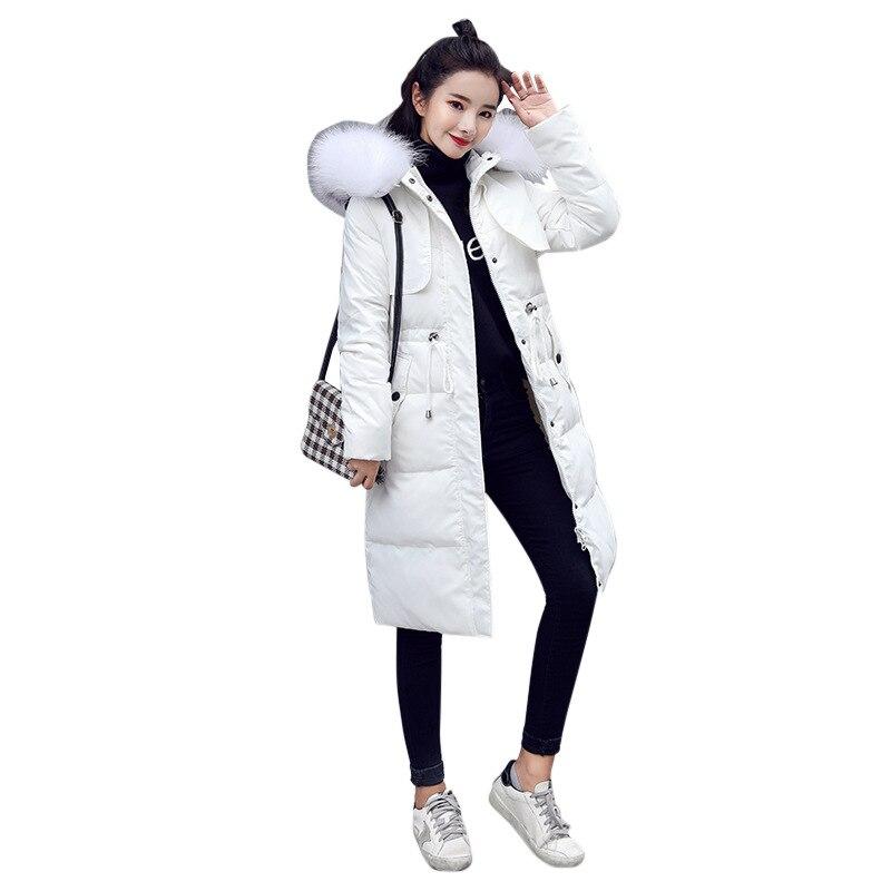 เป็ดสีขาวลงเสื้อแจ็คเก็ต 2018 หญิง Parkas สำหรับฤดูหนาวแจ็คเก็ตผู้หญิงยาวหนา Parka ธรรมชาติ Raccoon ขนสัตว์ Hood Coat-ใน เสื้อโค้ทดาวน์ จาก เสื้อผ้าสตรี บน AliExpress - 11.11_สิบเอ็ด สิบเอ็ดวันคนโสด 1
