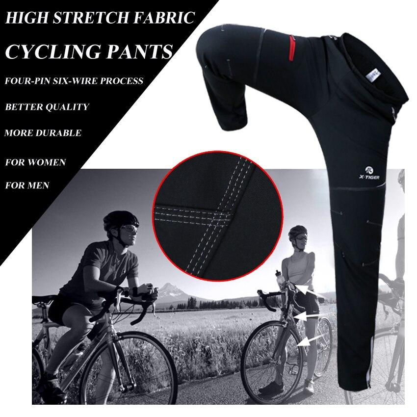 X TIGER hiver polaire thermique cyclisme veste manteau réfléchissant vélo vêtements ensemble vêtements de sport coupe vent vtt vélo maillots vêtements - 5