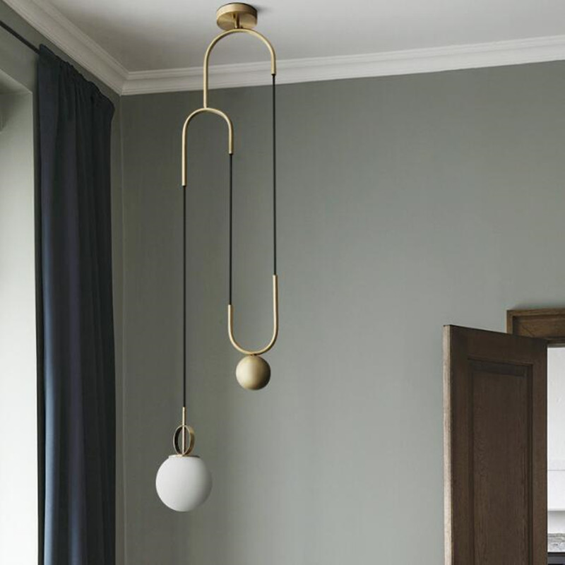 Nordic Modern Golden Glass Ball LED Pendant Light for Dining Room Restaurant Bedroom Living Room Decorate Hanging Lamp Fixtures литой диск proma премьер 7x17 5x114 3 d67 1 et46 неро page 5