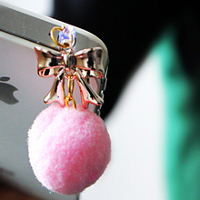 Cell Phone Accessories Ball Dust Plug