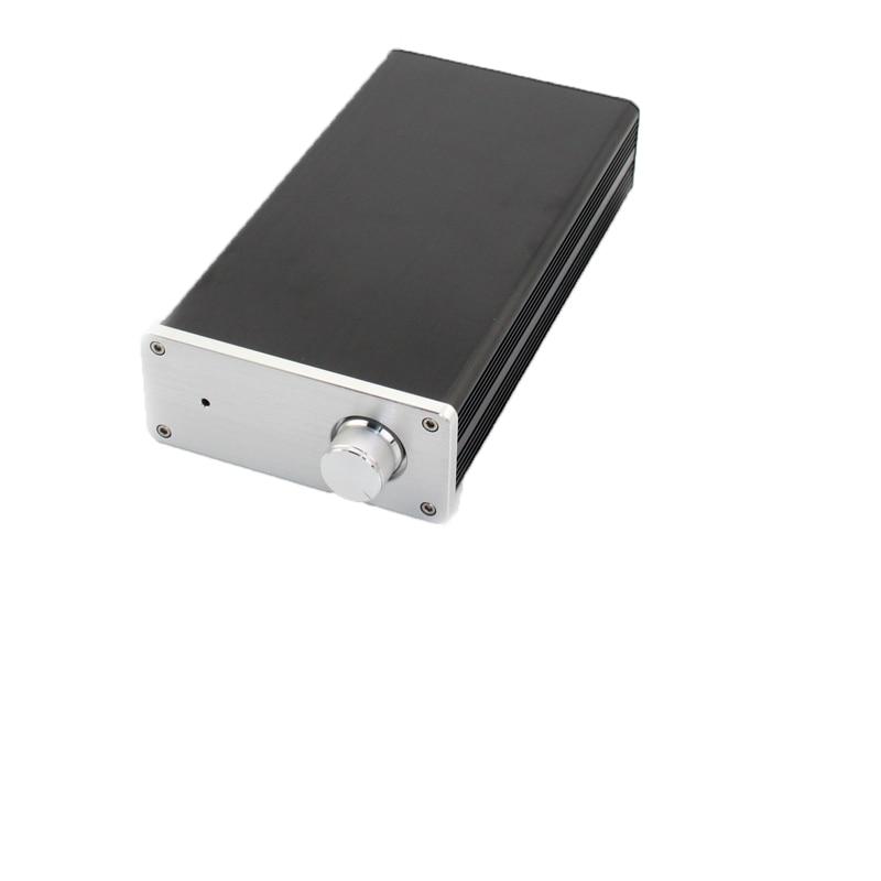 Алюминиевый мини-усилитель KYYSLB 2019 WA110, чехол для усилителя шасси, чехол для усилителя мощности, корпус/Чехол/коробка «сделай сам»