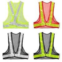 Лидер продаж открытый высокая видимость светоотражающий жилет дорожного строительства Детская безопасность безопасности шестерни рабочая одежда сетки