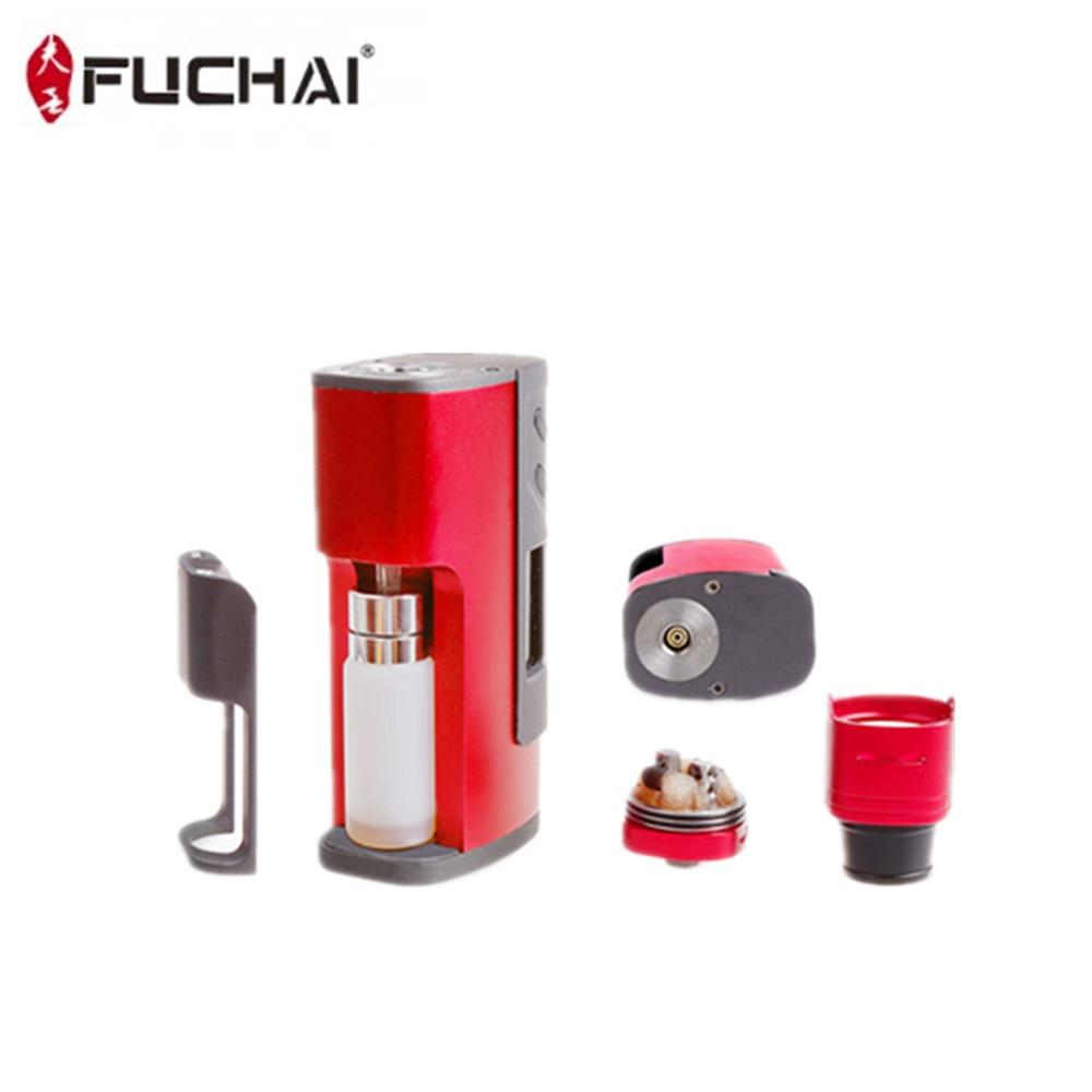 Fuchai 213 Squonk Kit 5 ml Capacité 150 w Squonk Boîte Mod E Cigarette Alimenté par 21700 18650 Batterie VS cuboid 150 Vaporisateur Kit - 3