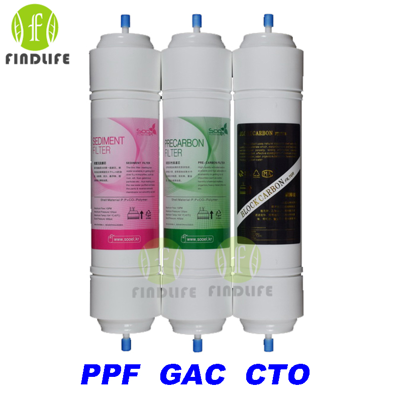5 MICRON PPF Granular Activated Carbon Filter CTO Carbon Block Filter WATER FILTER Cartridge FOR 5