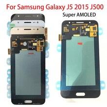 5.0'' AMOLED LCD for SAMSUNG Galaxy J5 2015 J500 LCD Display J500H J500FN J500F J500M SM-J500F Touch Screen Digitizer Assembly цена