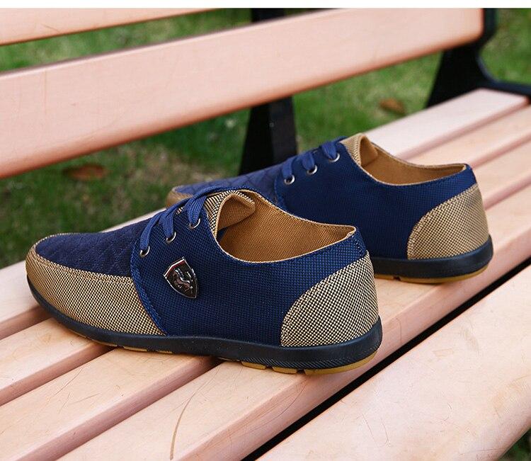 HTB181QyaorrK1RkSne1q6ArVVXae 2019 Shoes Men Flats Canvas Lacing Shoes Breathable Men Casual Shoes Fashion Sneakers Men Loafers Wholesale Men 39 S Shoes