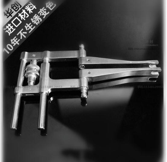 medical orthopedic instrument spinal Lumbar vertebra 6.0 Pedicle screw system distractor deformable Parallel separation device цена 2017