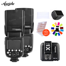Godox TT685 TT685C Flash Speedlite 2.4G Wireless HSS TTL With X1T-C Wireless trigger transmitter for Canon DSLR Cameras