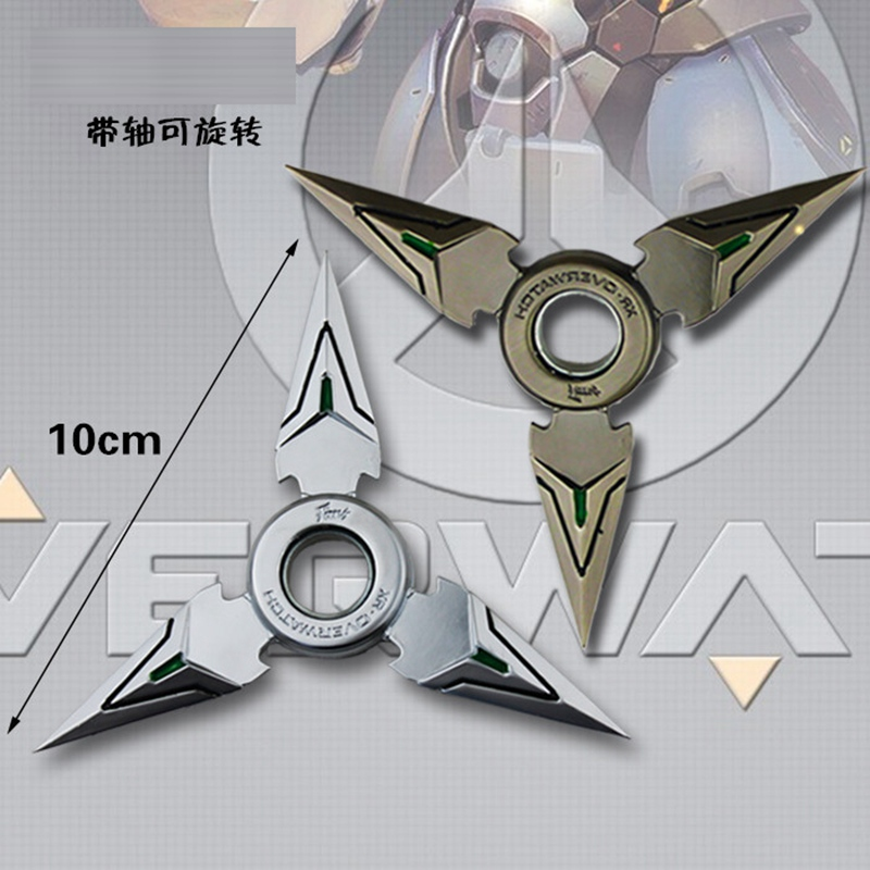 New GENJI Darts Tri-Spinner Fidget Toy Metal Edc Fidgets Hand Spinner Autism And Adhd Increase Focus Keep Hands Busy OW KF021 creative ceramic tri spinner fidget toy edc hand spinner for autism and adhd stress relieve toy rotation time beyond 6 minutes