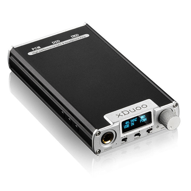ЦАП XDuoo XD-05 Портативный Аудио Усилитель Для Наушников Усилитель Встроенная Поддержка DSD64/128 Декодер USB 32bit/384 кГц с HD OLED Дисплей