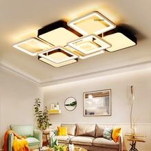 Luminaire Modern Led Ceiling Lights For Living Room Study Room Bedroom Home Dec AC85-265V lamparas de techo Ceiling Lamp dimming цена в Москве и Питере
